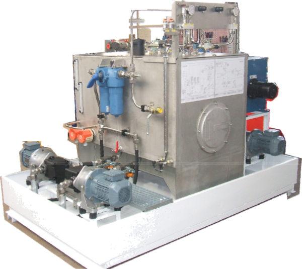 Centrale de filtration