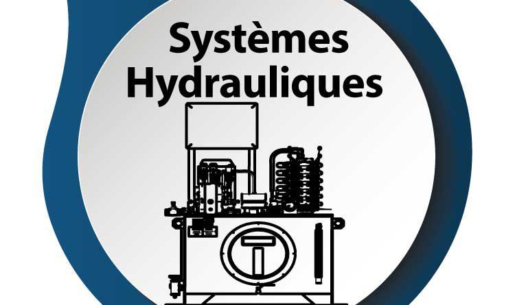 Systèmes hydrauliques ou centrales de puissance